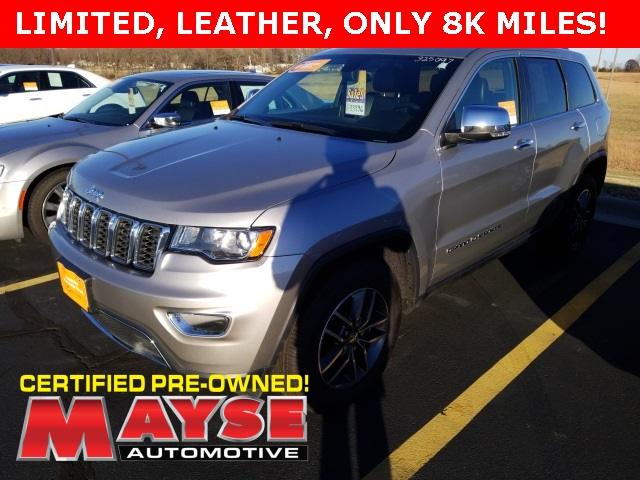 Jeep Certified Pre-Owned >> Certified Pre Owned 2018 Jeep Grand Cherokee Limited 4d Sport