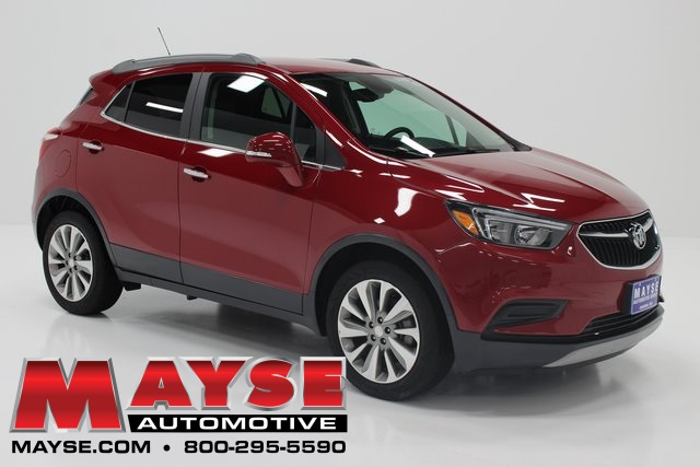 Red Buick Encore >> Pre Owned 2018 Buick Encore Preferred Fwd 4d Sport Utility