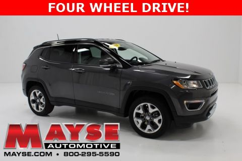 Pre-Owned 2019 Jeep Compass Limited